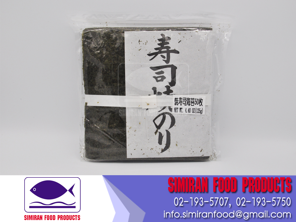 Sushinori/Roasted Seaweed A Grade 50 Sheets